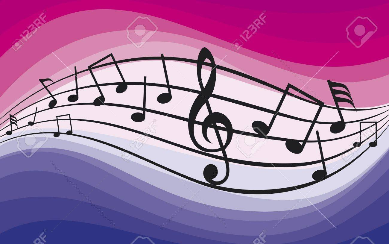 Music theme  Music notes Stock Vector - 21061207