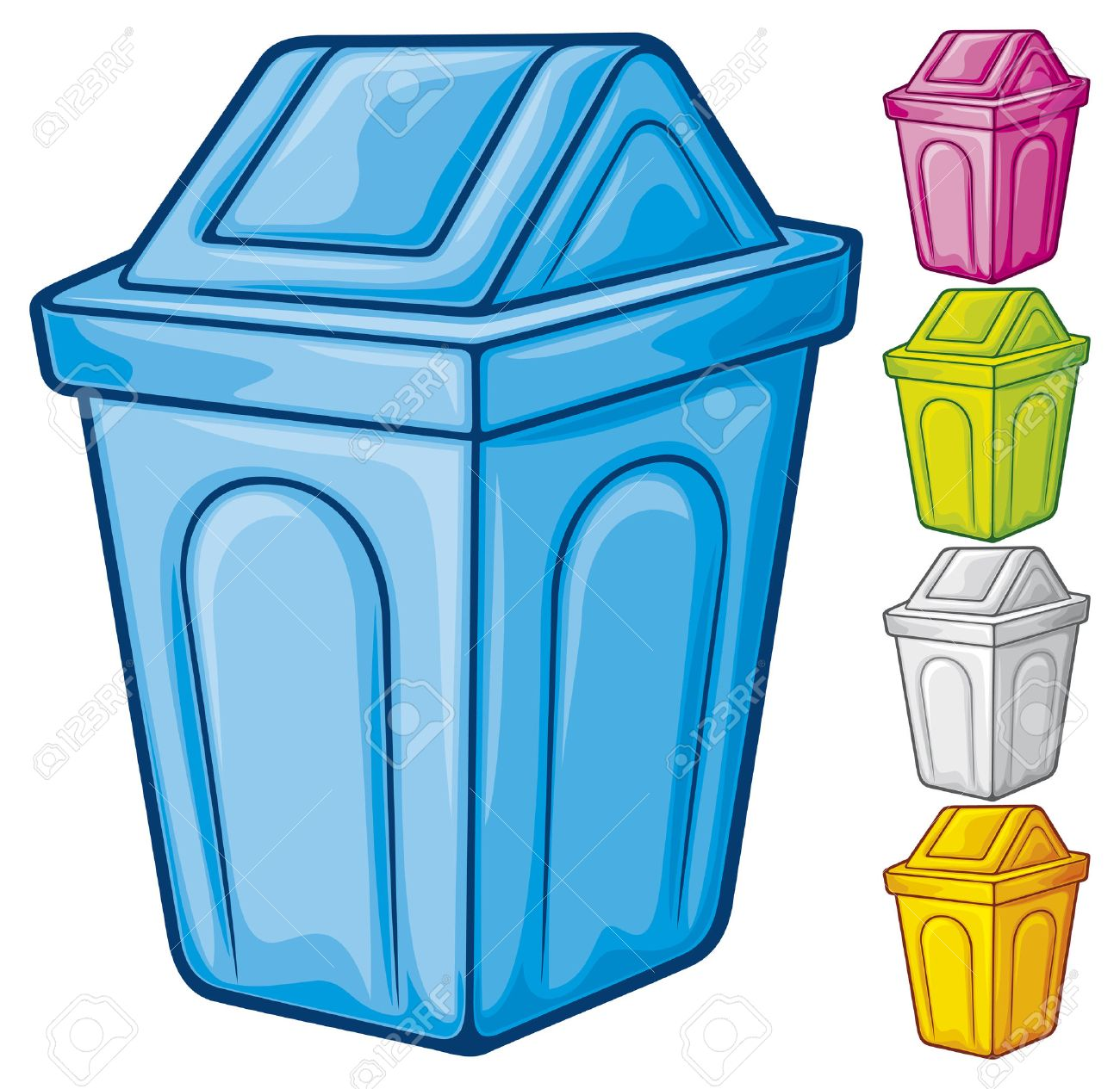 22,330 Trash Can Cliparts, Stock Vector And Royalty Free Trash Can ...