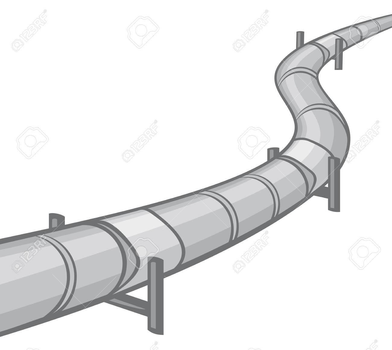 pipeline Stock Vector - 23476427