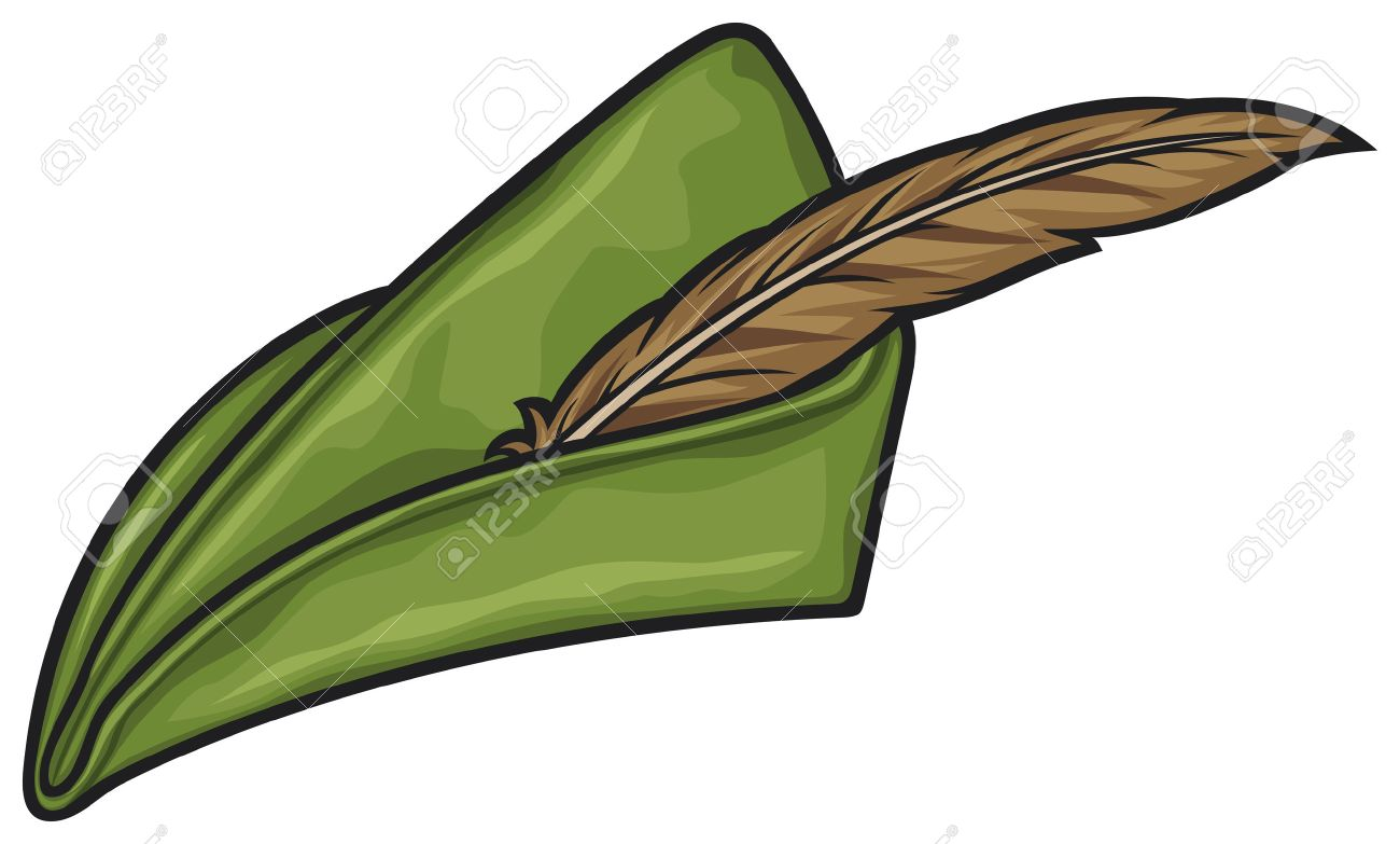 Robin Hood Hat Royalty Free Cliparts 01cef8509e7