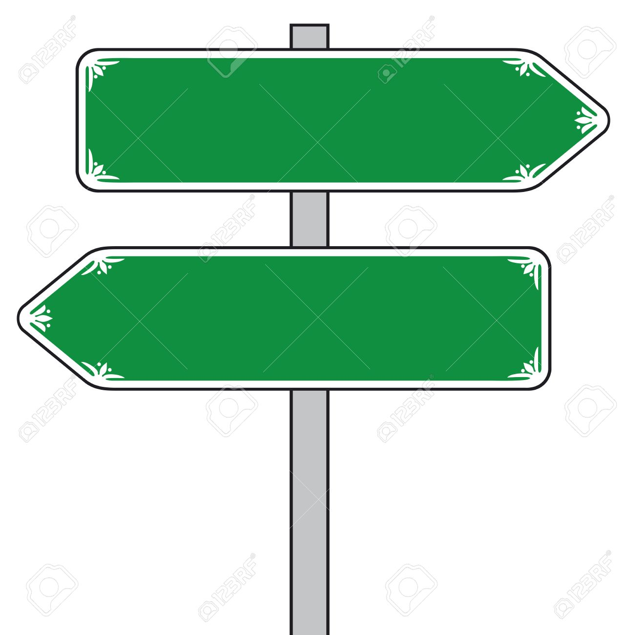 sign direction street sign road sign royalty free cliparts rh 123rf com street sign clip art images street sign clip art black white