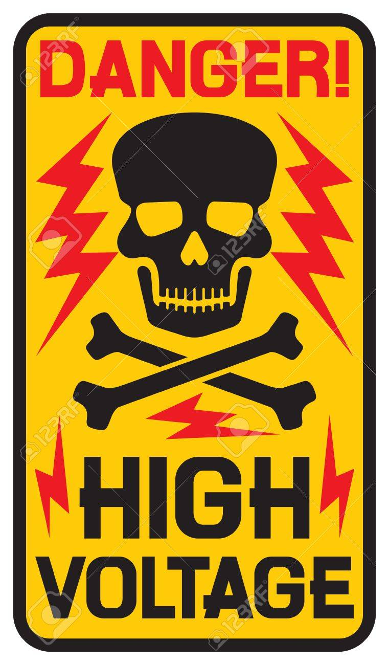 Danger high voltage sign high voltage symbol royalty free cliparts danger high voltage sign high voltage symbol stock vector 46728419 buycottarizona