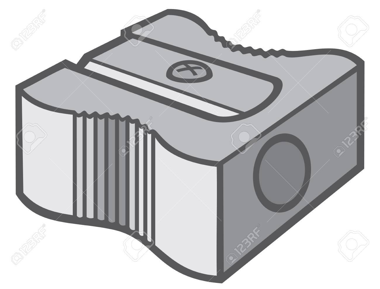 Pencil Sharpener Stock Vector