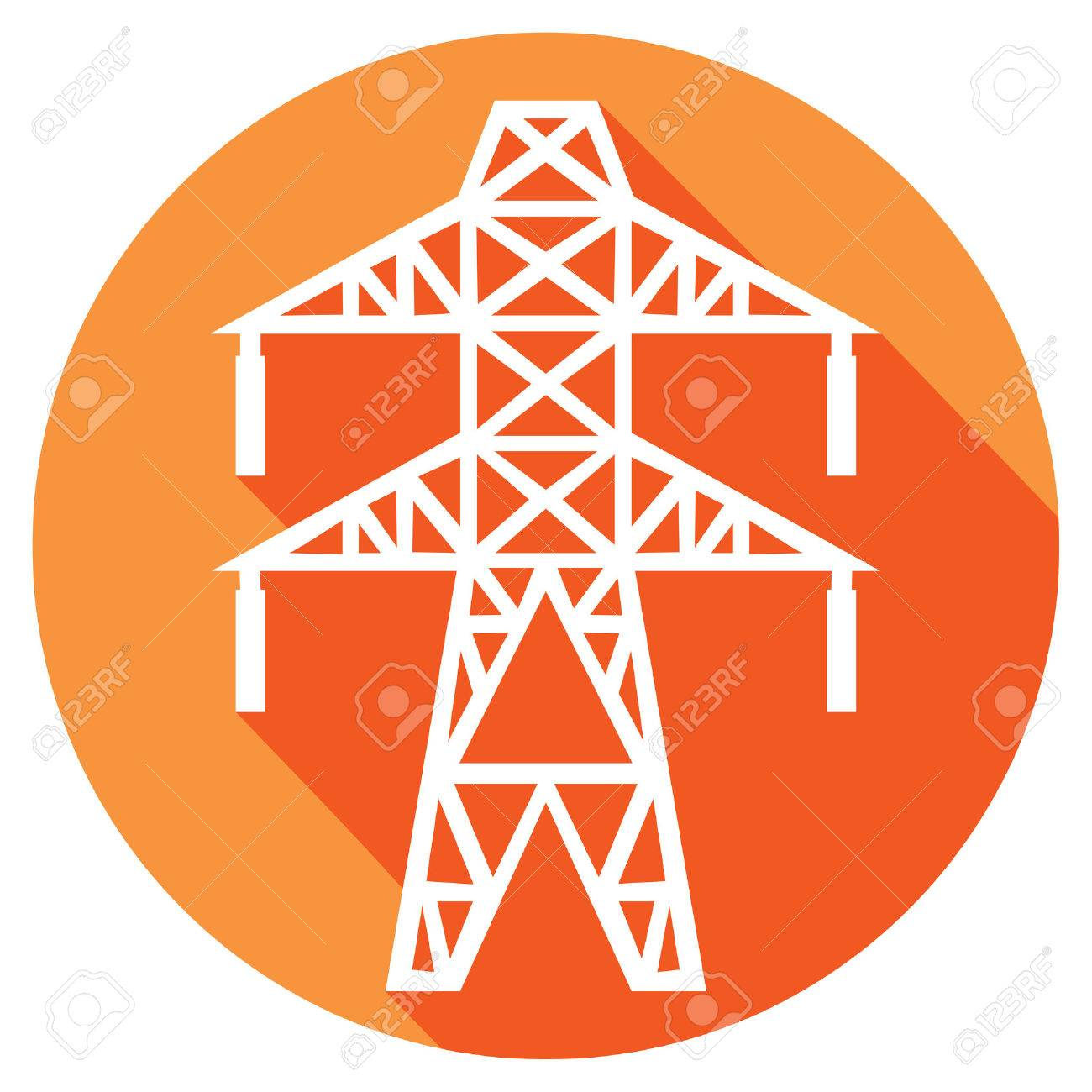 Power line flat icon electric transmission line symbol royalty power line flat icon electric transmission line symbol stock vector 52265922 biocorpaavc