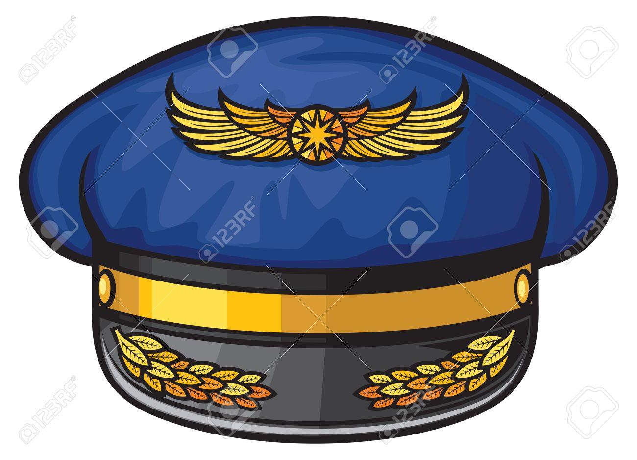 Sombrero De Pilotos De Líneas Aéreas (sombrero De Piloto, Gorra De ...