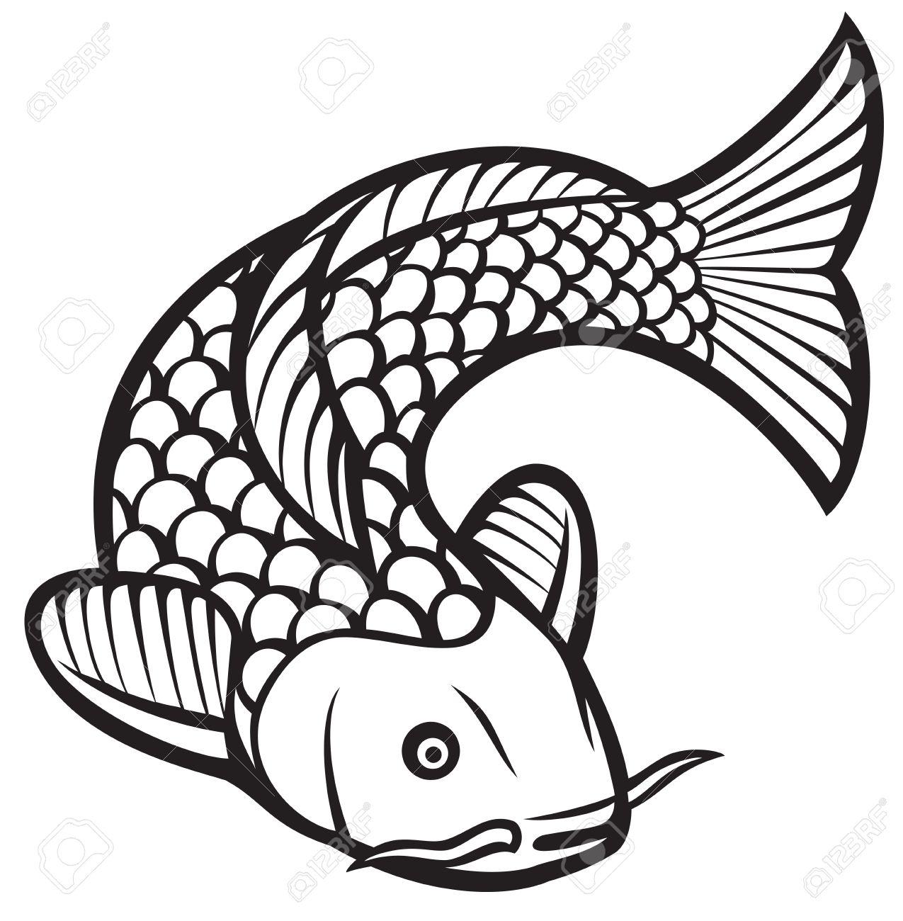 koi fish vector illustration of a japanese or chinese inspired rh 123rf com koi fish vector png koi fish vector art