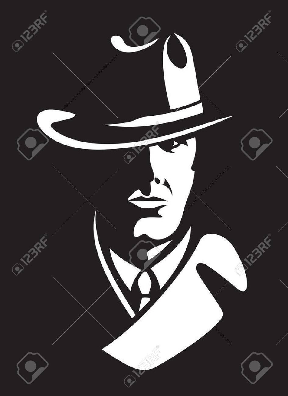 private detective vector illustration - 66527168