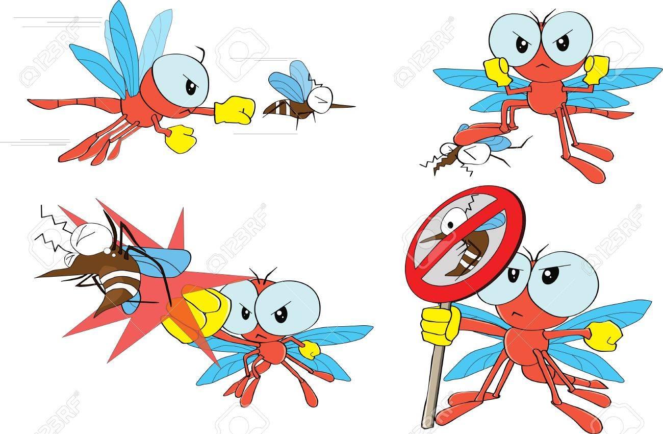Libelle Und Mücken Lizenzfrei Nutzbare Vektorgrafiken, Clip Arts ...