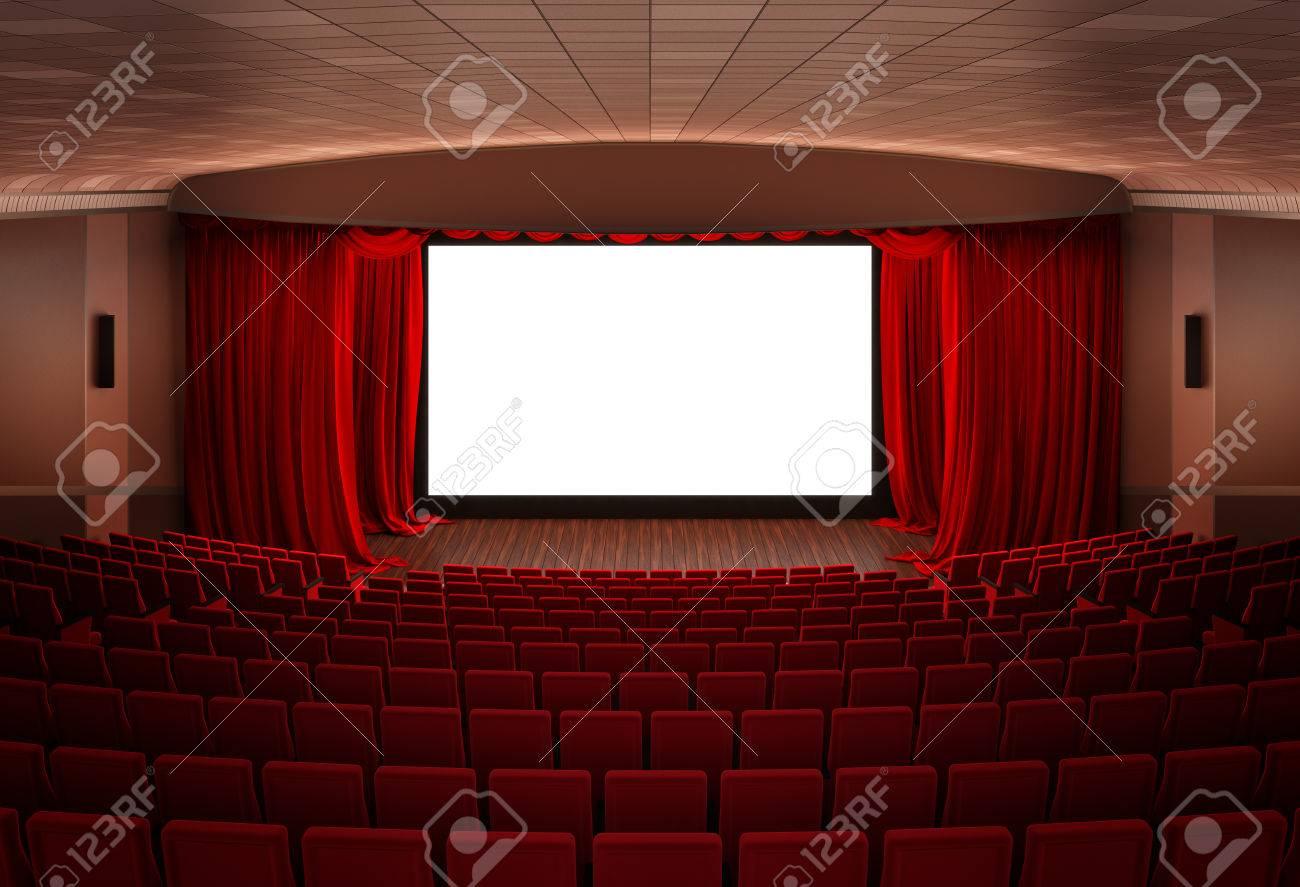 Cinema screen Stock Photo - 23312221