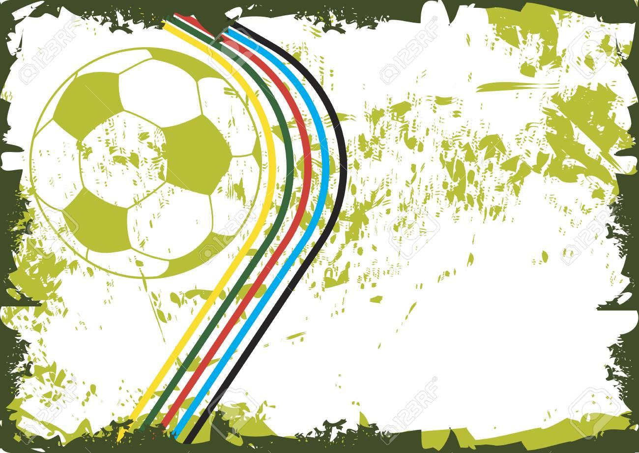Fußball-Farben Lizenzfrei Nutzbare Vektorgrafiken, Clip Arts ...