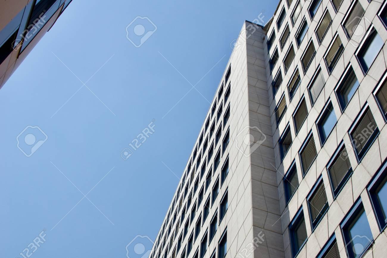 Modern facade of an office building - 82919566