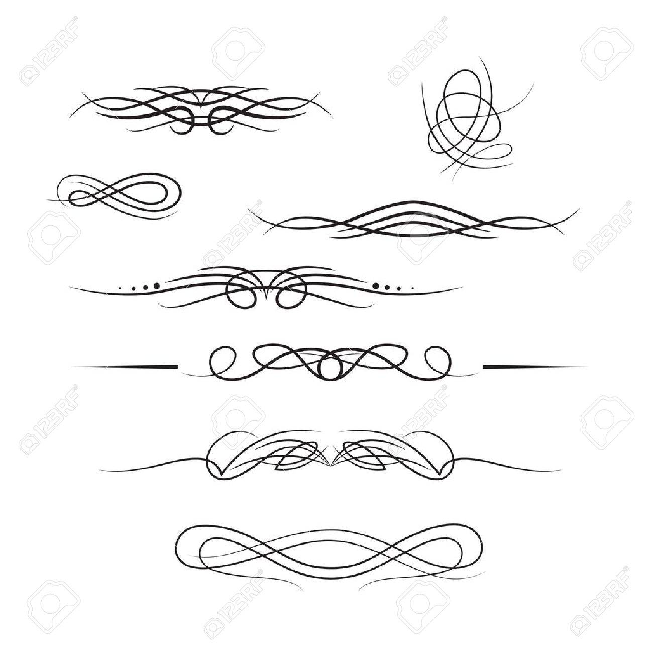 Borders and elements for design Stock Vector - 14856317