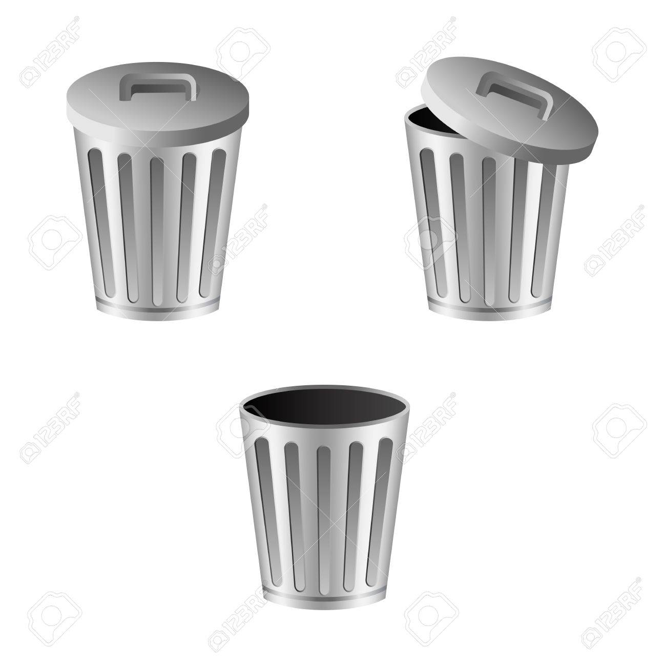 Trash can Stock Vector - 15977489
