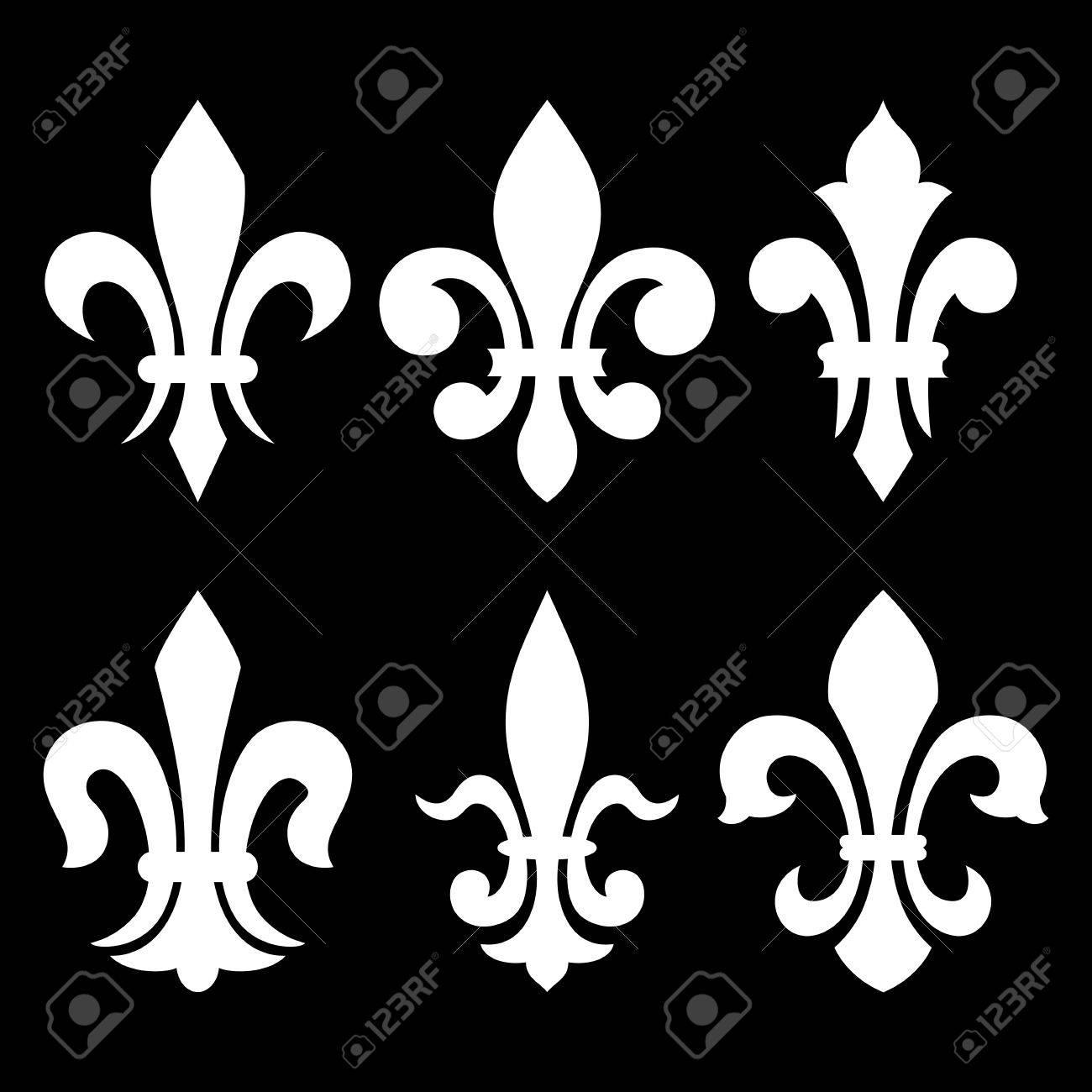 Flower meanings lily - Lily Flower Heraldic Symbol Fleur De Lis Vector Image Stock Vector