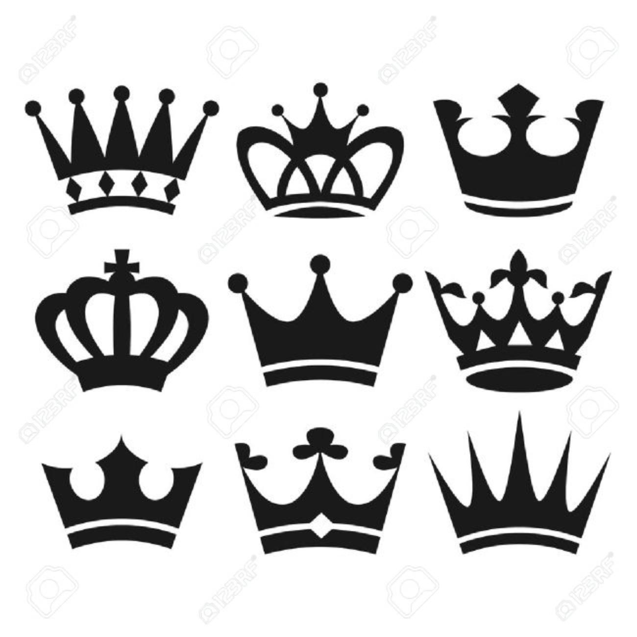 корона нарисованная фото