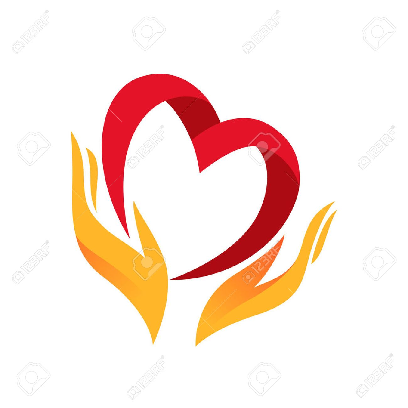 Heart in hand symbol sign icon logo template for charity heart in hand symbol sign icon logo template for charity health biocorpaavc