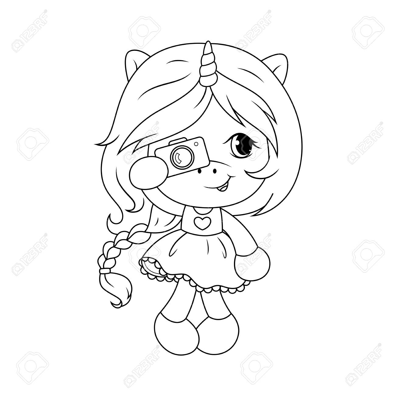 7800 Coloring Pages Of Cute Baby Unicorns , Free HD Download