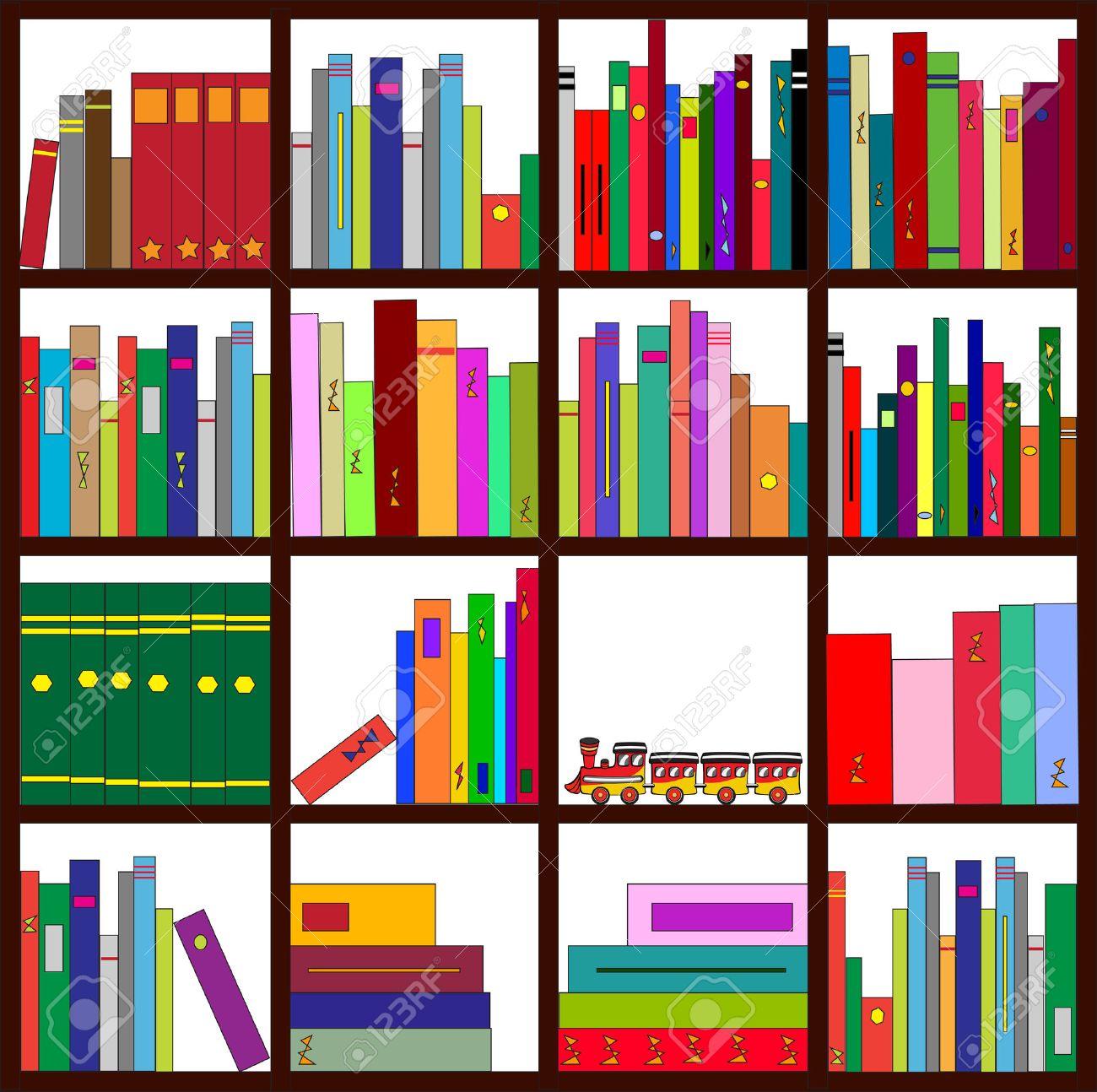 Wundervoll Coole Regale Referenz Von Tration Von Vier Mit Lädt Cool Bücher