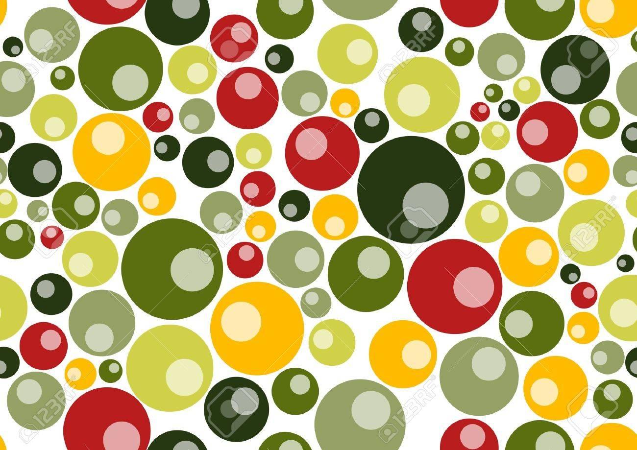 pattern  background  made up of many circle shapes. Stock Photo - 9960071