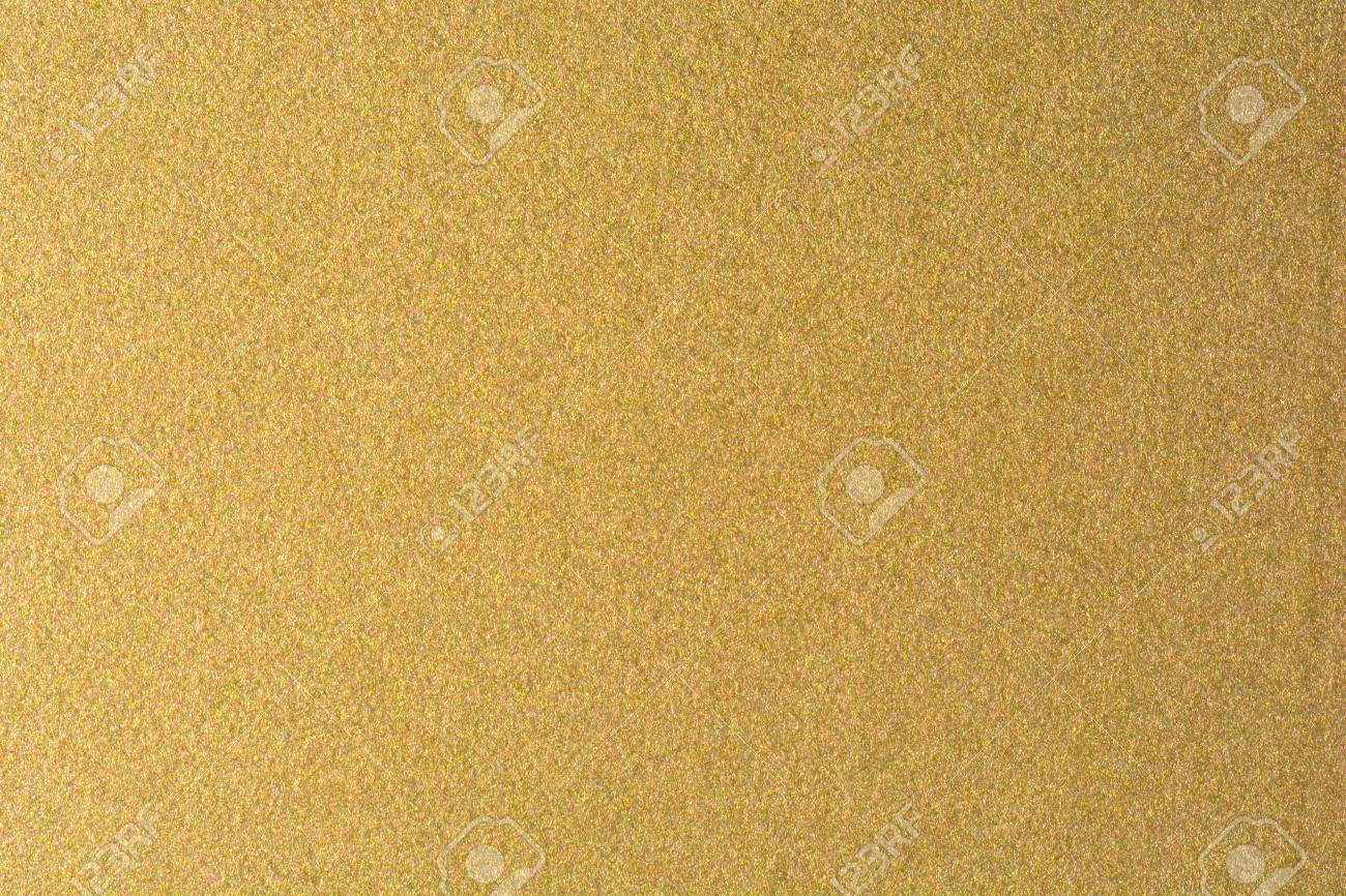 Details Of Golden Texture Background. Gold Color Paint Wall... Stock ...