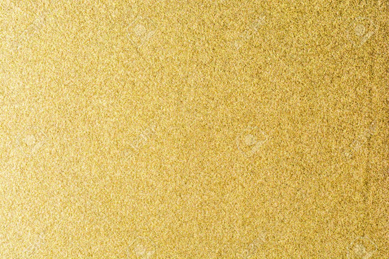 Details Of Golden Texture Background Gold Color Paint Wall