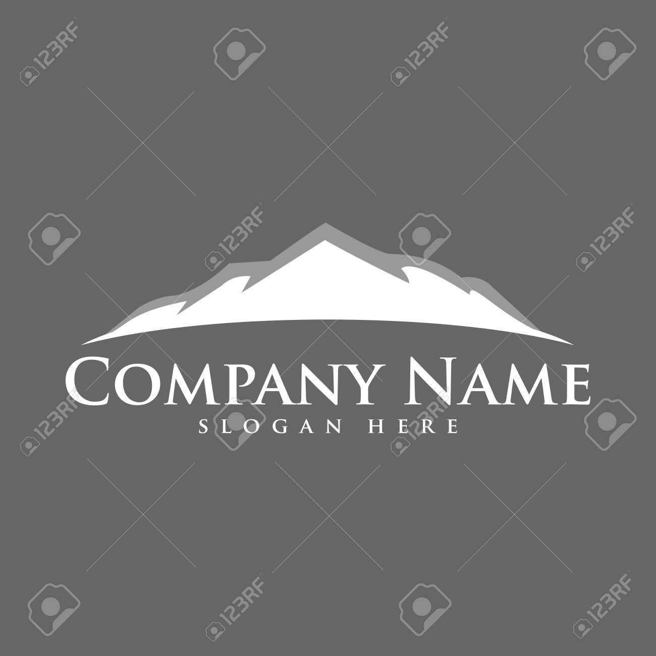 mountain logo icon vector design symbol - 140819587