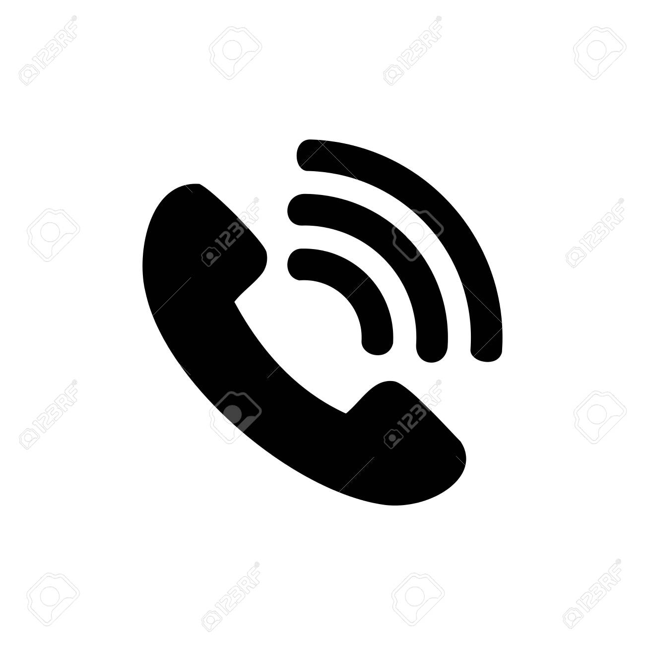 Call Phone Icon,telephone Icon Vector Design Symbol Royalty Free Cliparts,  Vectors, And Stock Illustration. Image 141181865.
