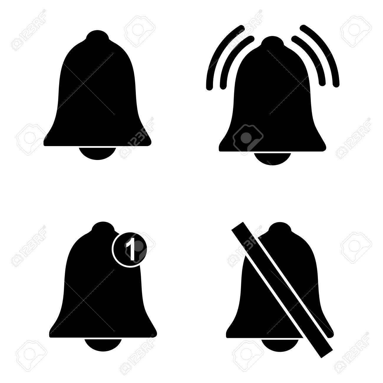 notification icon,bell notification, social media notification icon vector design symbol - 141379442