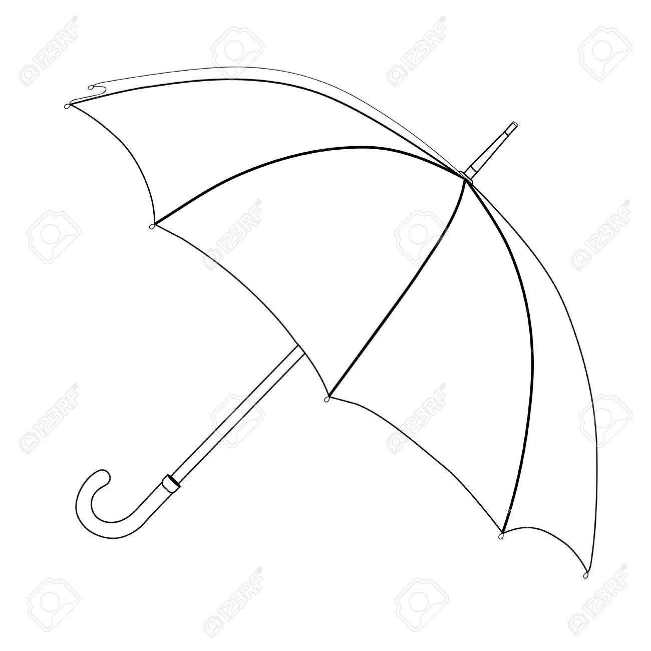 Umbrella Drawing Art