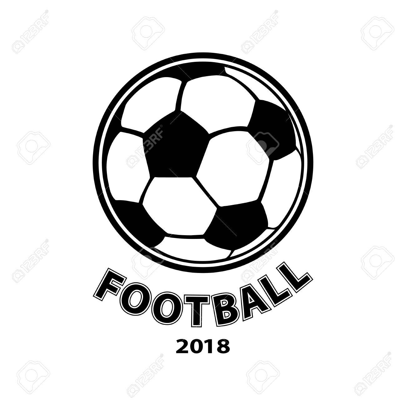 football logo ball icon isolated on white background vector Football Mascots football logo ball icon isolated on white background vector stock vector 82586342