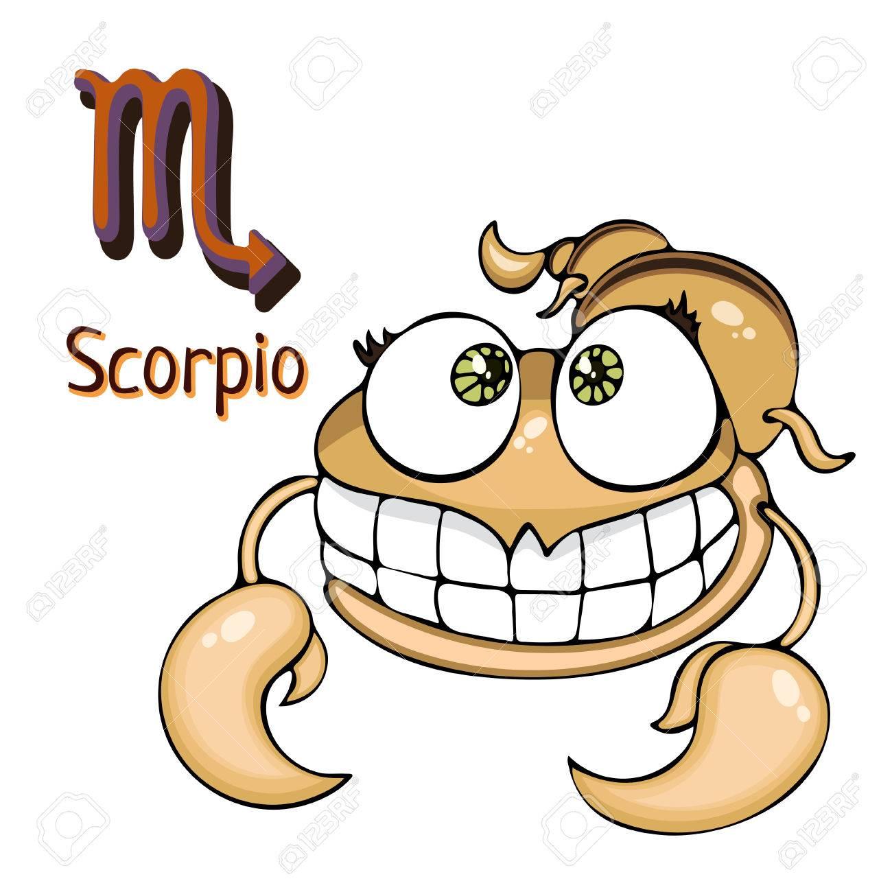 Dessin D Un Scorpion un signe du zodiaque scorpion dans le personnage astrologique de