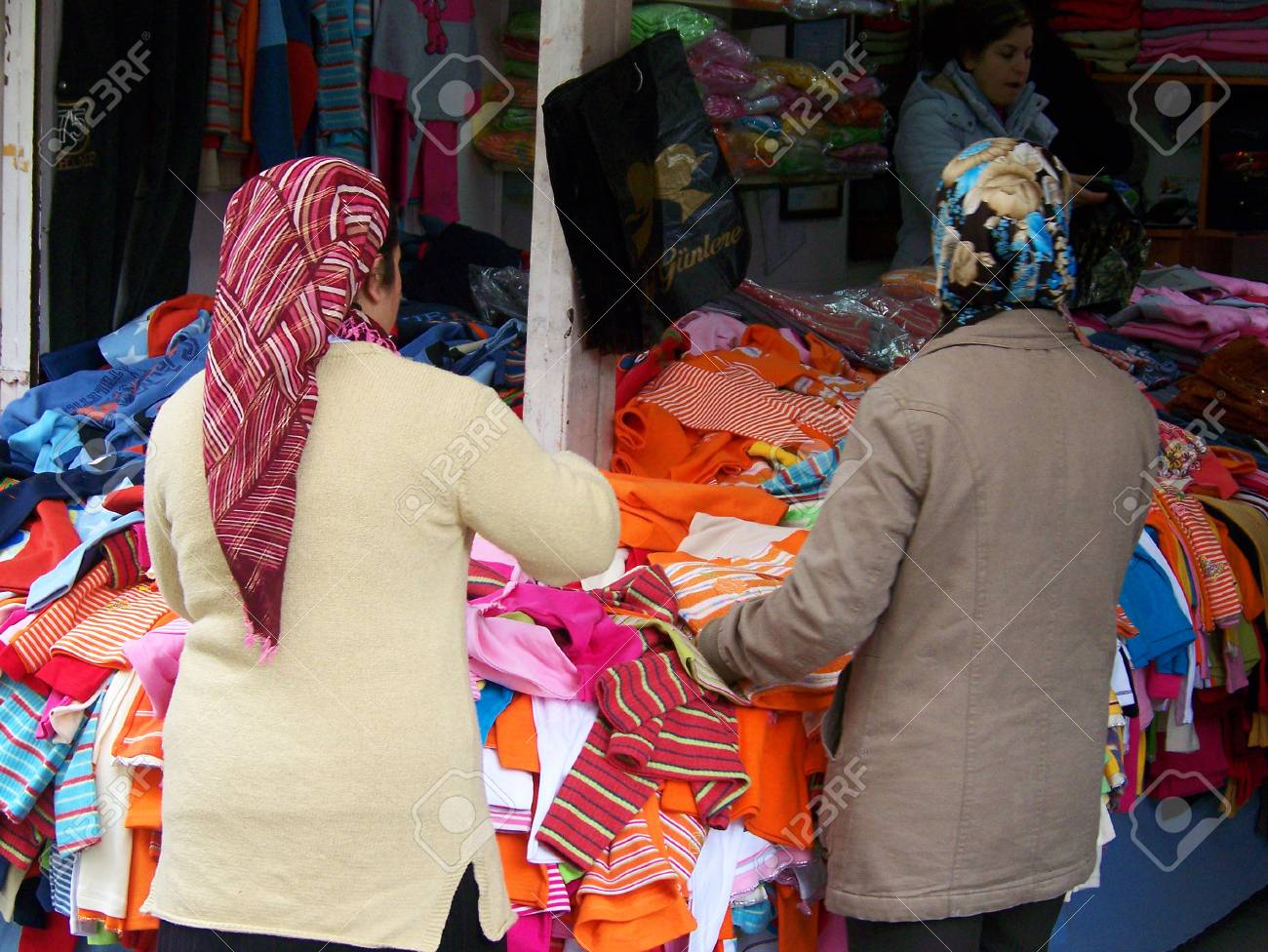 Women At The Market In Izmir Stock Photo Picture And Royalty Free Image Image 25655305