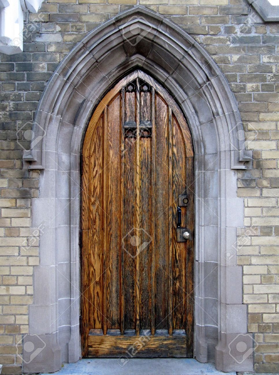 Gothic door on the side of Toronto Necropolis Chapel Stock Photo - 8001218 & Gothic Door On The Side Of Toronto Necropolis Chapel Stock Photo ...