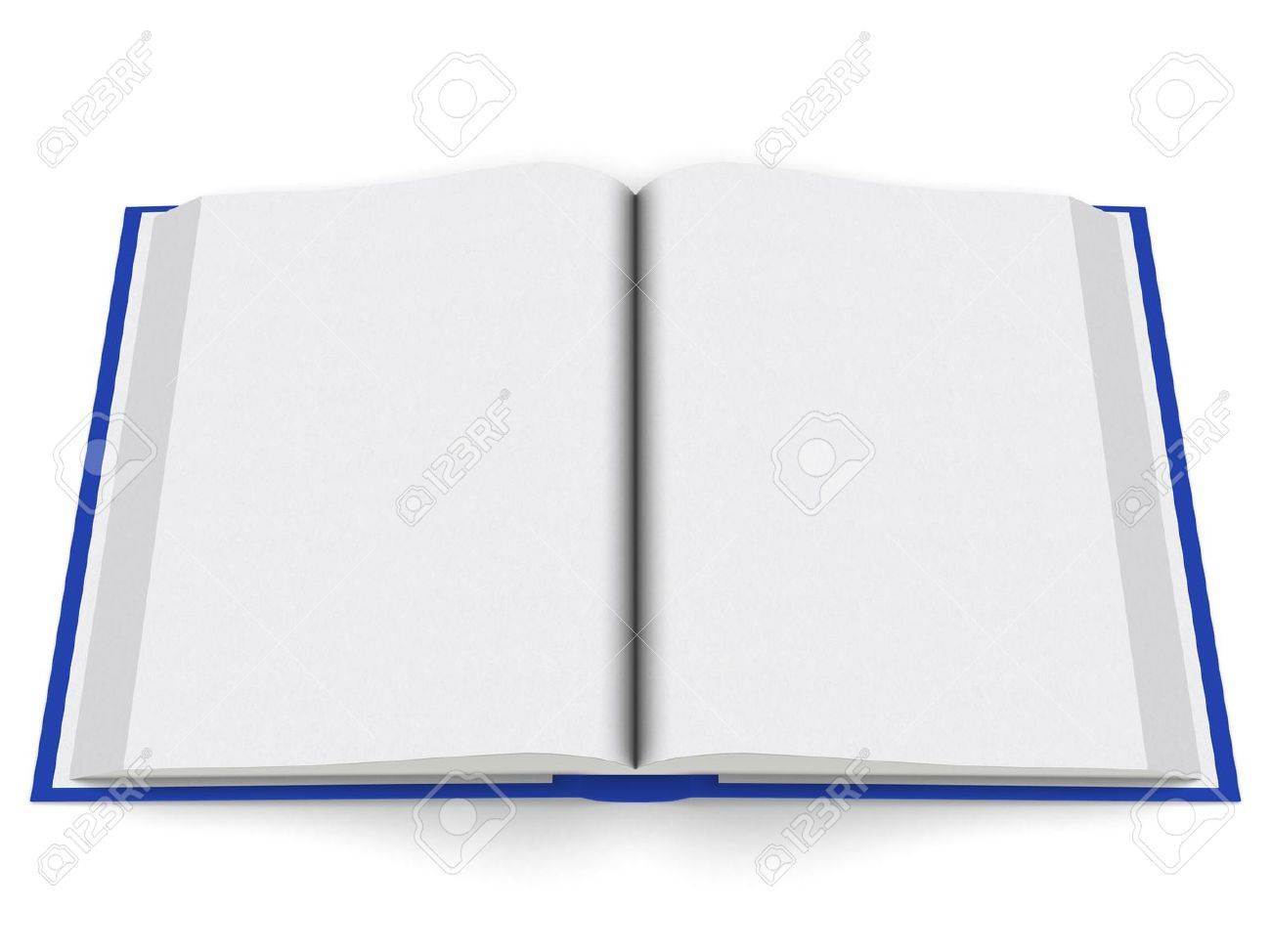 an open Book, evenly shaded and rendered Stock Photo - 9394038