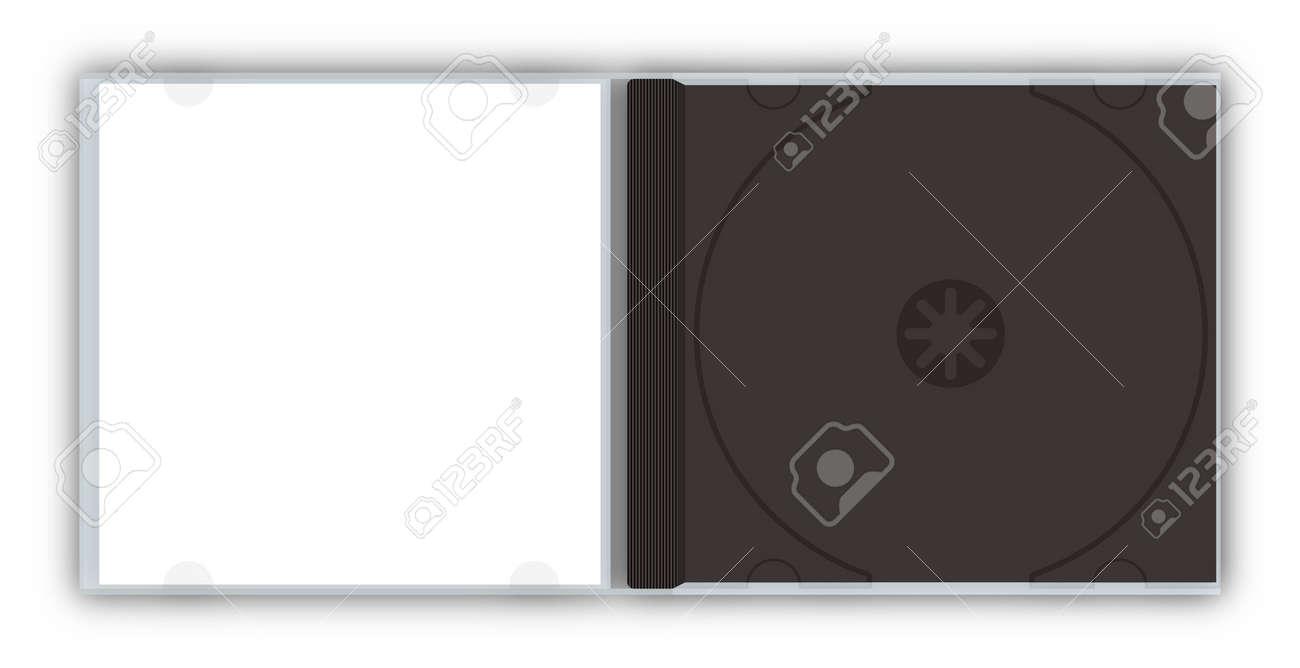 空の cd dvd ジュエル ケース テンプレート ロイヤリティーフリーフォト
