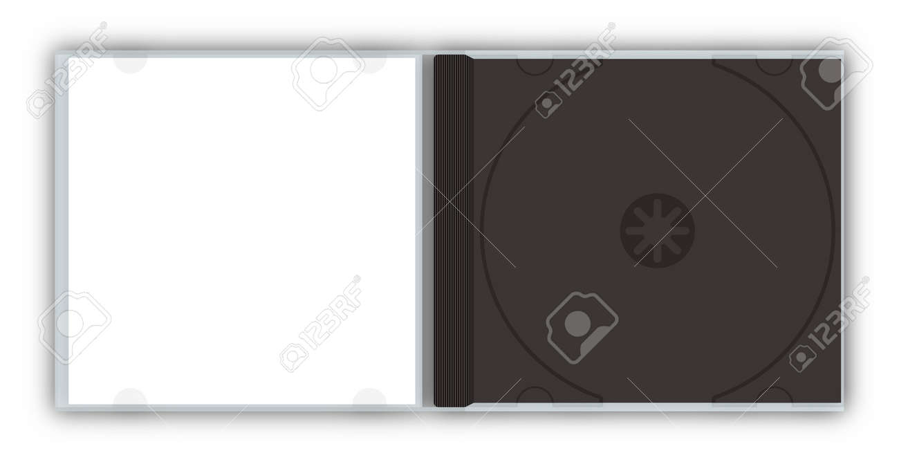 empty cd dvd jewel case template stock photo picture and royalty
