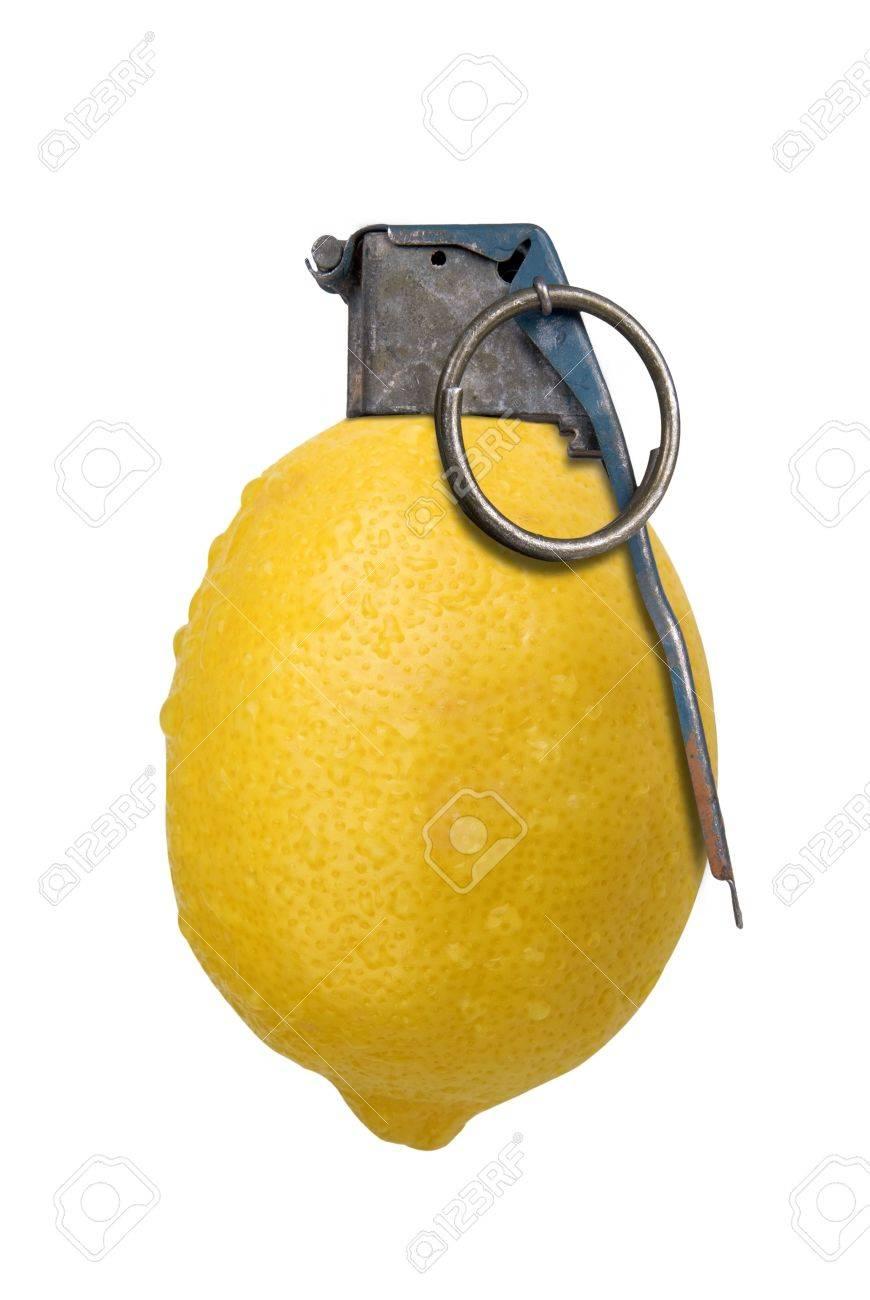 Image result for lemon grenade