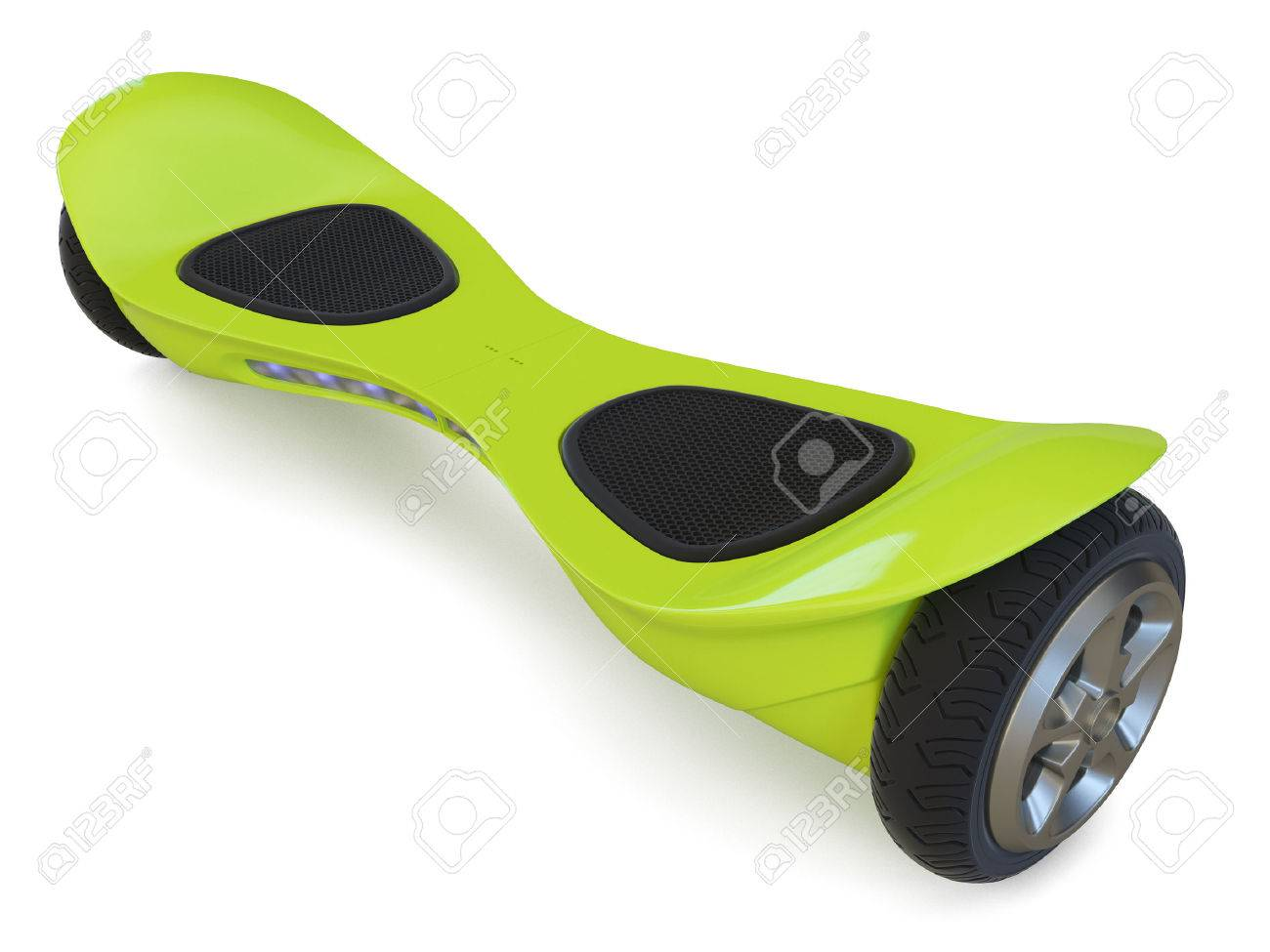 Hoverboard isolated on white background. 3D render Standard-Bild - 54499886
