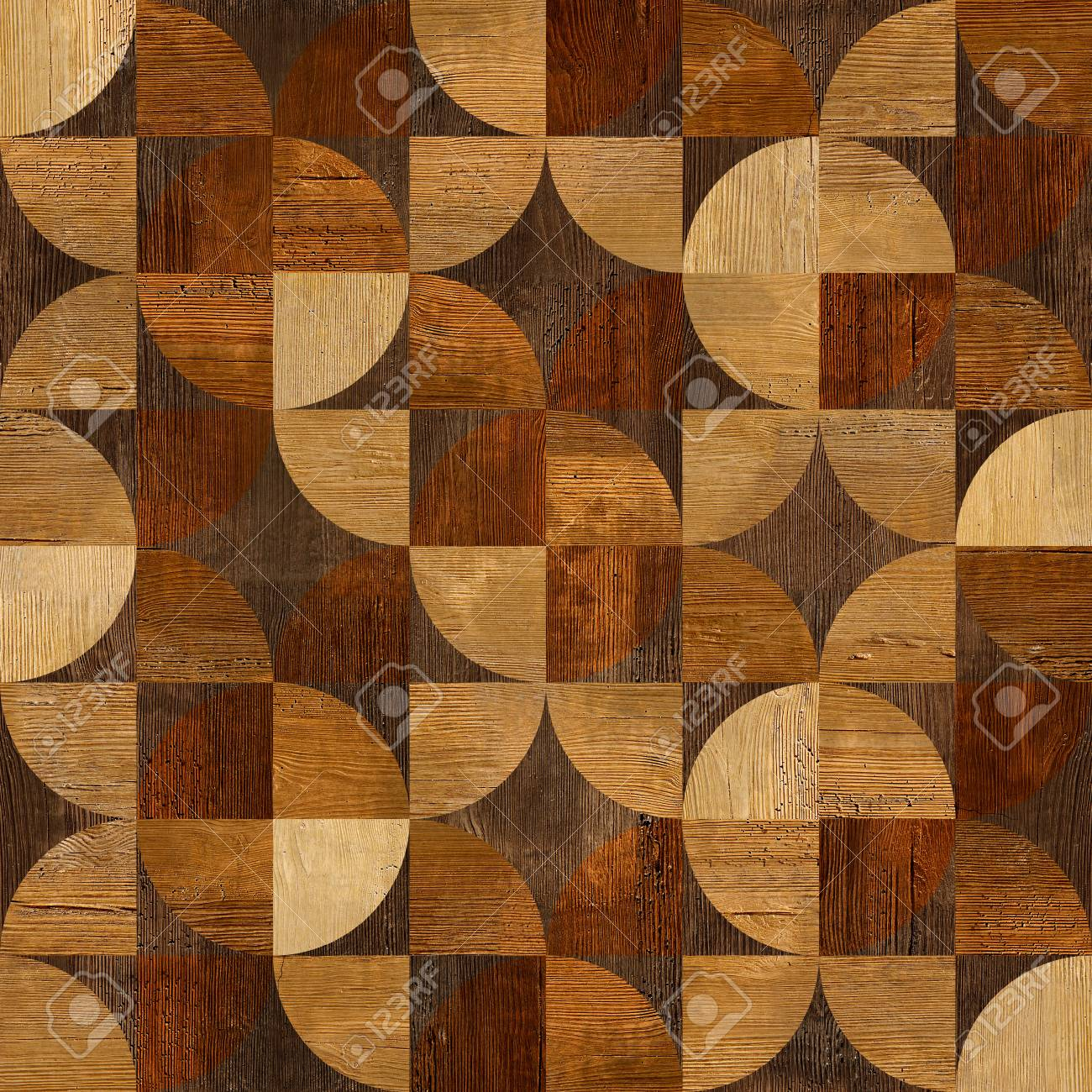 Abstract paneling pattern - seamless background - 37206952