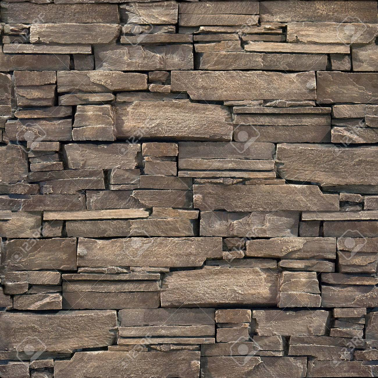 Decorative Stone Wall decorative stone wall - seamless background - stone texture stock