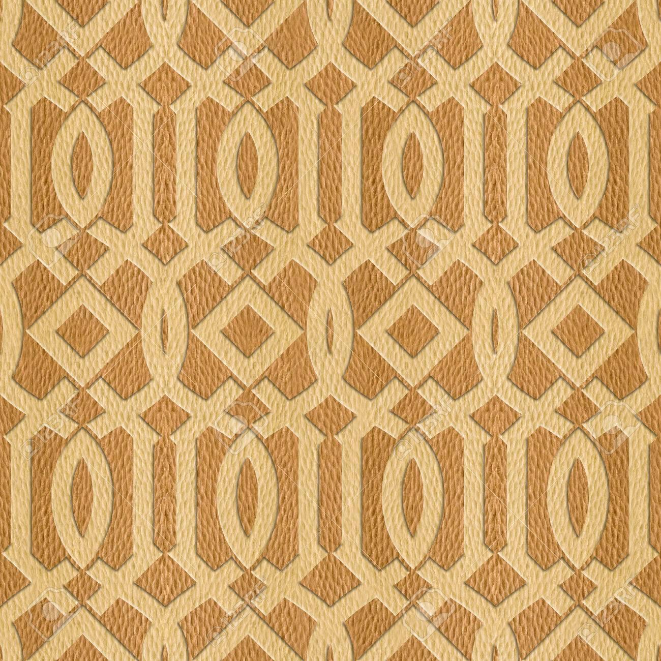 Decorative Arabic Pattern - Interior Design Wallpaper - Interior ...