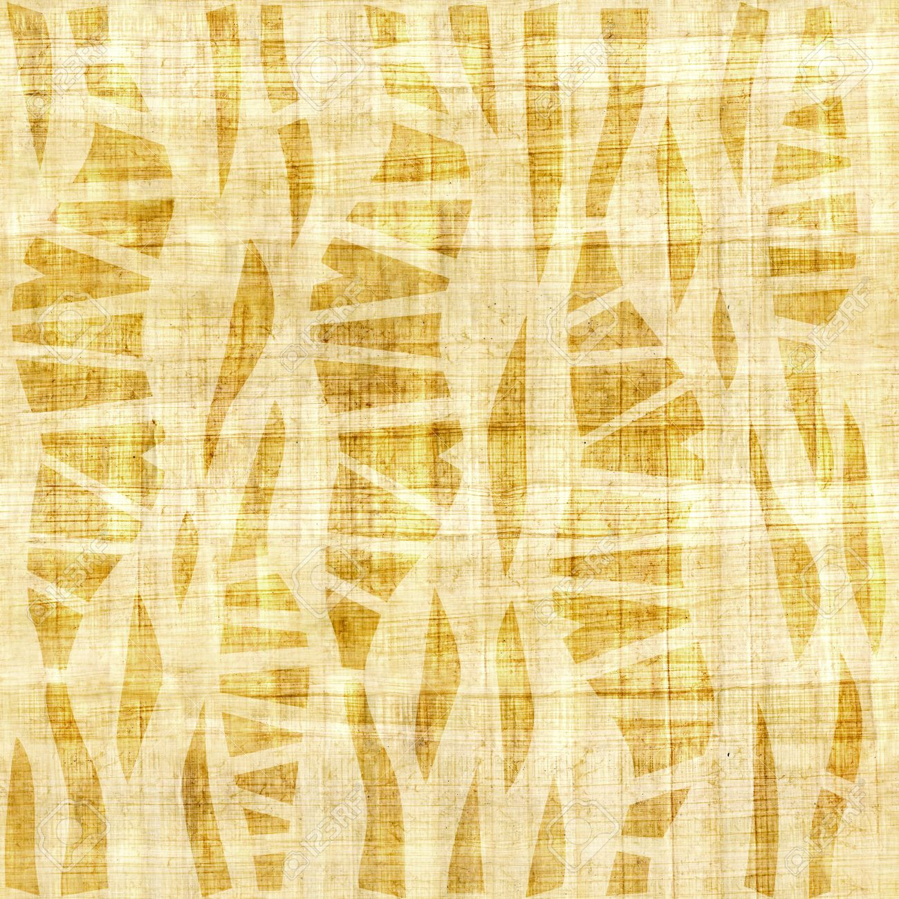 Abstract Decorative Wallpaper Papyrus Texture Seamless