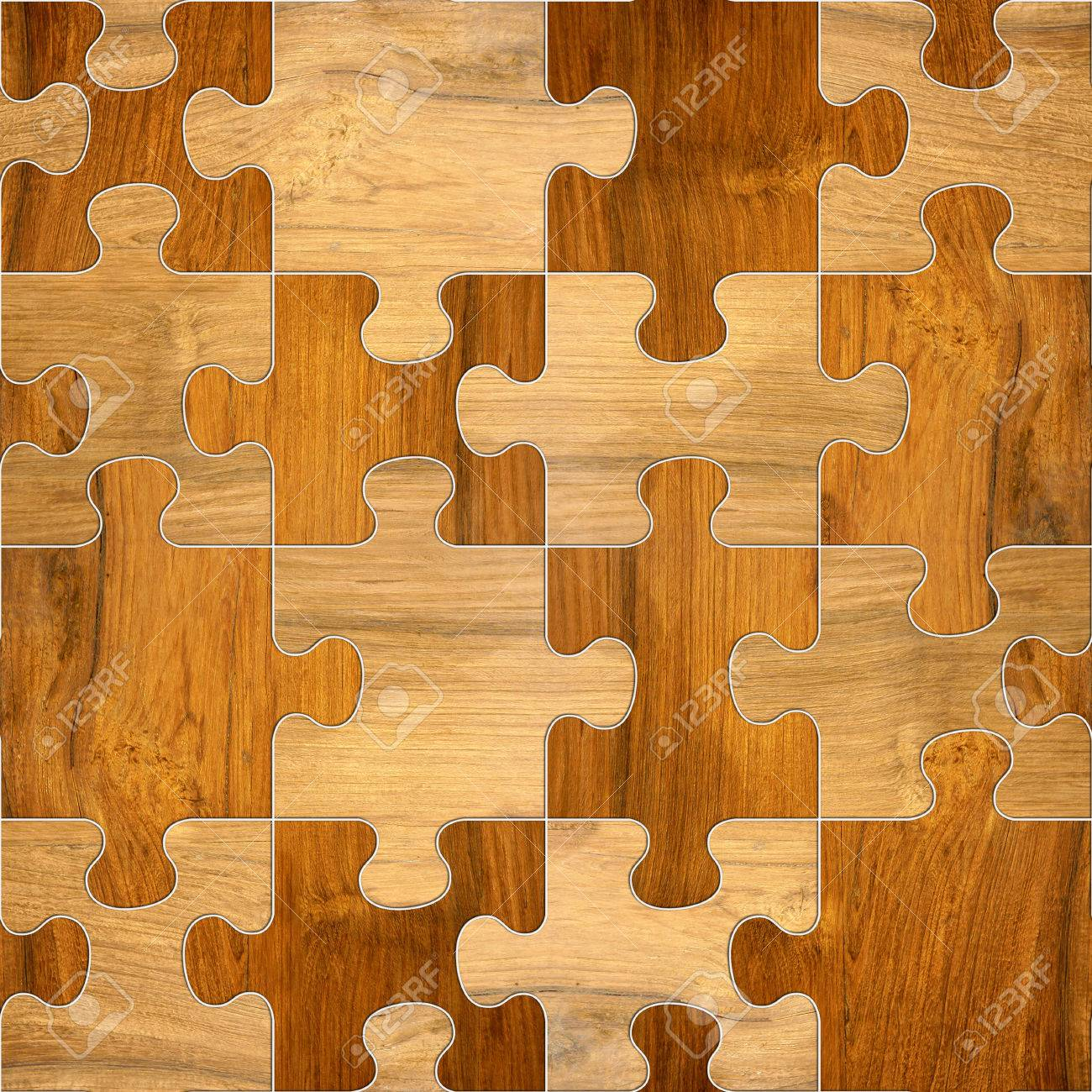 background with wooden patterns of different colors and puzzle shapes wooden patterns wallpaper texture - Puzzle Wood Flooring