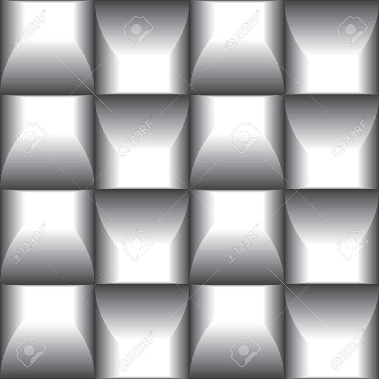 Decorative Paneling Pattern Stylish Graphic Texture Vector Black White Seamless Patterns Interior