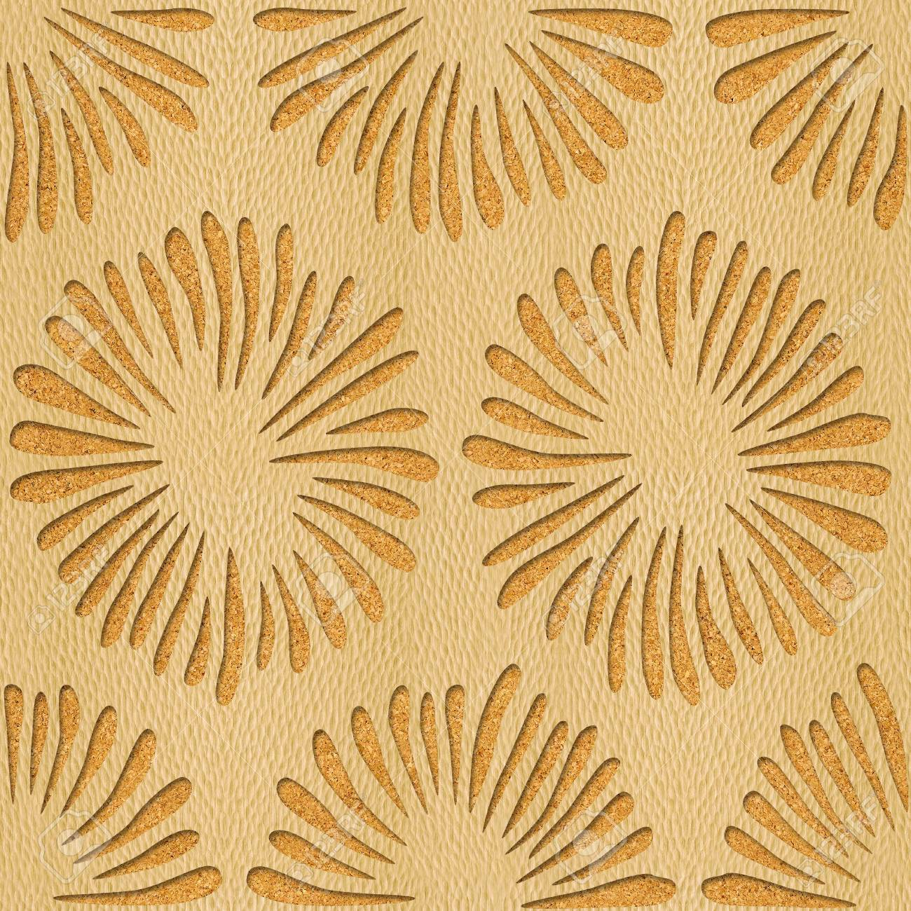 Decorative Flowers - Interior Wallpaper - Seamless Background ...