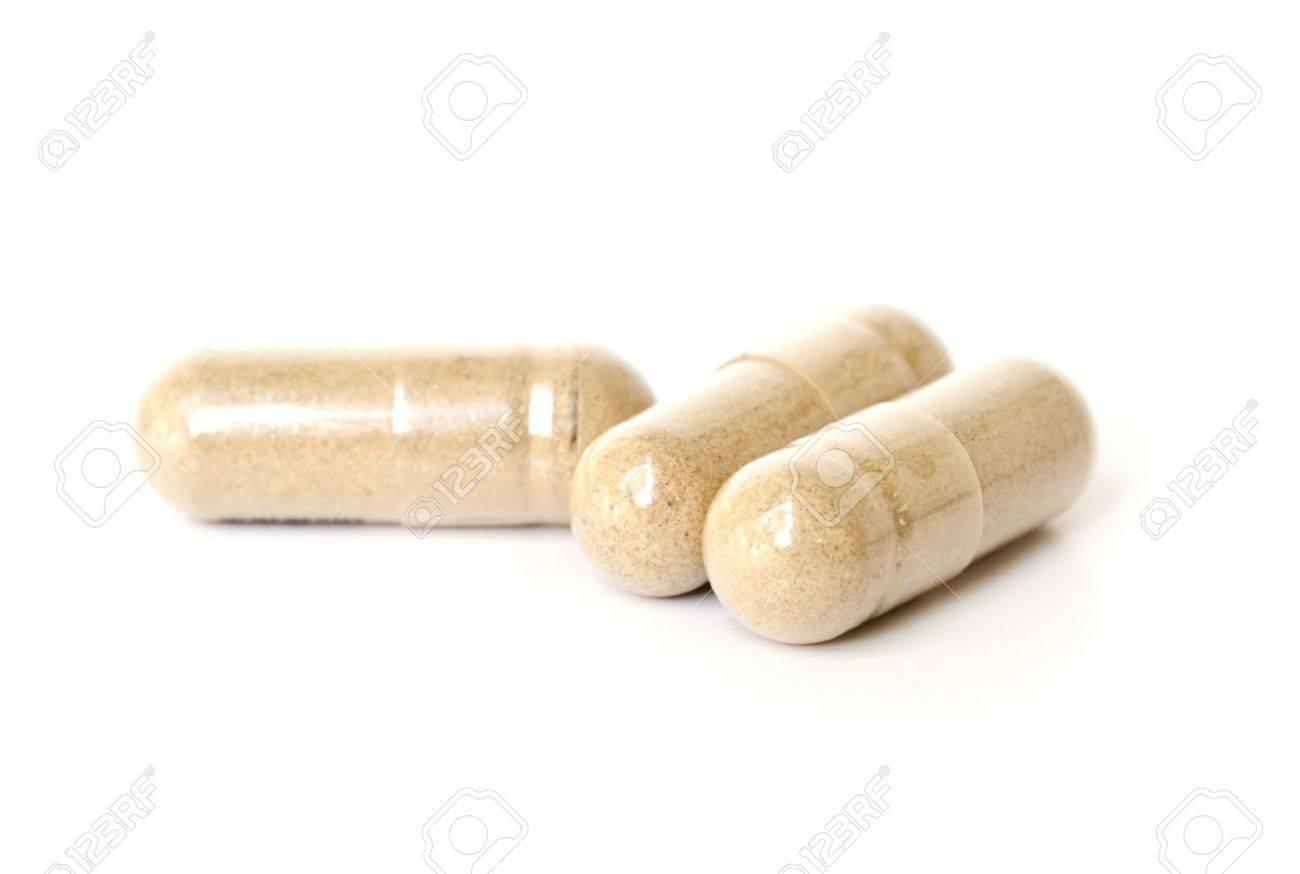 Herbal Drug . an alternative medicine in capsule. - 18839975