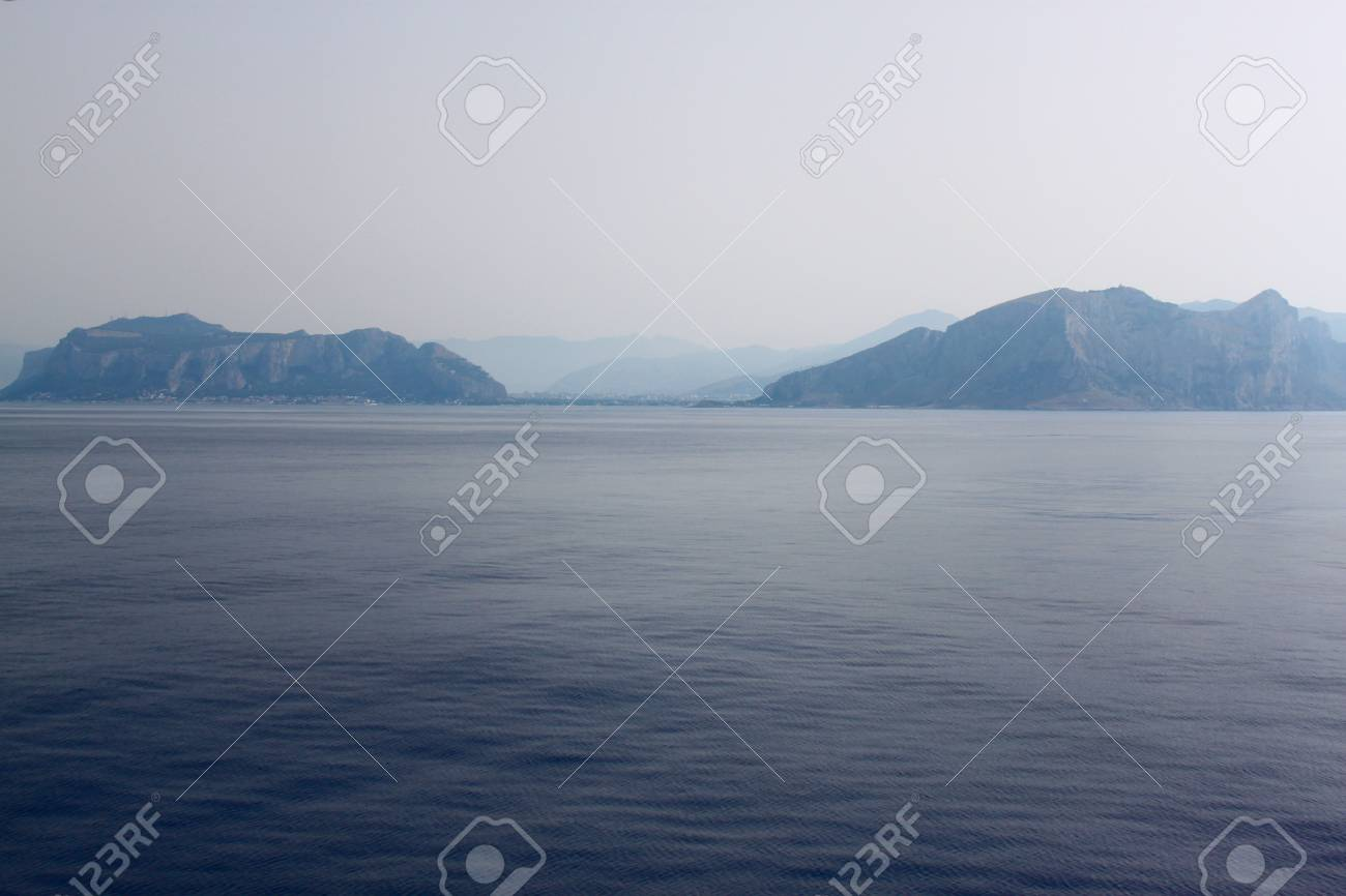 Panoramic view sicily sea coast,italy Stock Photo - 13973314