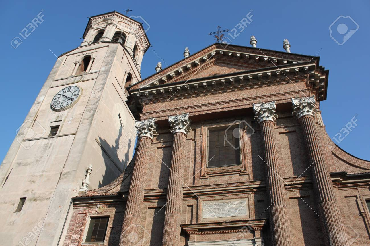 Church tower in Piedmont, italy Stock Photo - 14257450