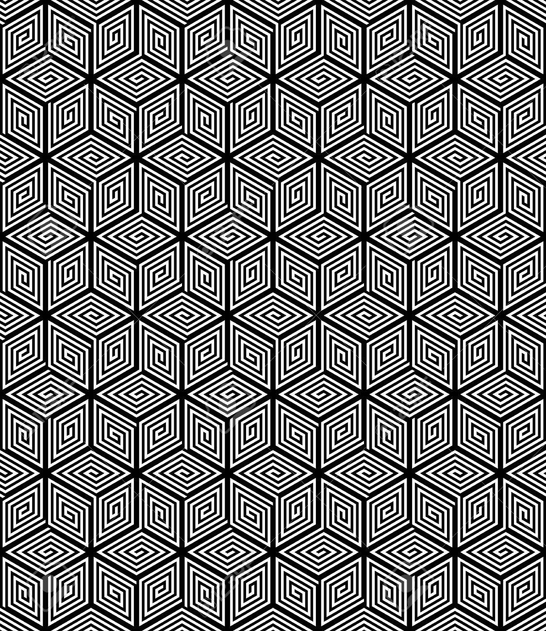 Senza Soluzione Di Continuità Op Art Texture Geometrica Clipart