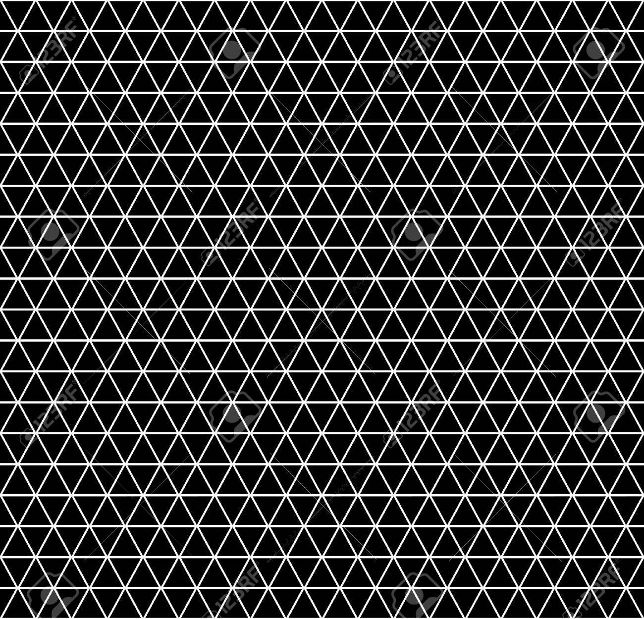 Seamless geometric latticed texture. Hexagons, diamonds and triangles pattern. Vector art. - 39241151